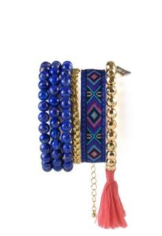 4pc Hipanema Bracelet Stack