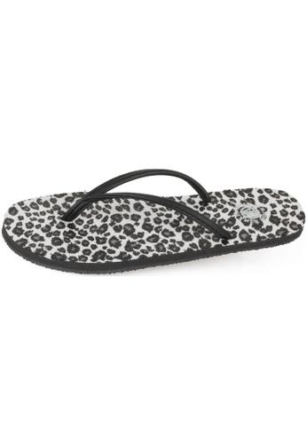 paperplanes Paperplanes-1152 Fashion Leopard Pattern Flip-Flop Sandals Shoes US Women Size PA110SH04DWHHK_1