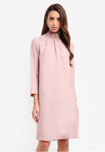 Selected Femme pink Gracy Pink Dress 62D29AA6632BF2GS_1