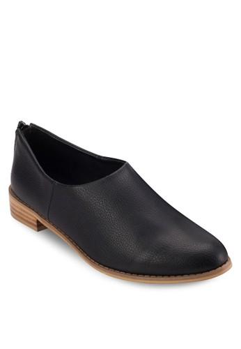 拉鍊esprit hk素面樂福鞋, 女鞋, 鞋