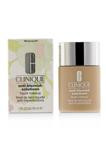 Clinique CLINIQUE - Anti Blemish Solutions Liquid Makeup - # 02 Fresh Ivory 30ml/1oz 00F9BBE0D104E6GS_1