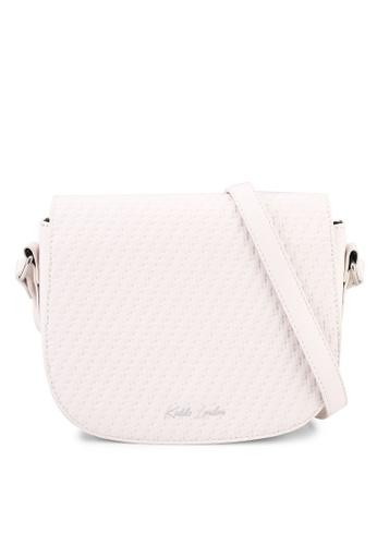 Keddo white Roondeau Sling Bag 3BBF4AC4CC04E3GS_1