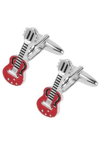 CUFF IT red Red Guitar Cufflinks CU047AC46RVTHK_1