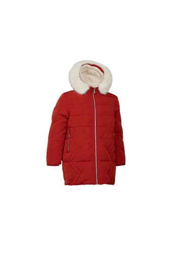 Universal Traveller red Universal Traveller Classic Down Jacket With Contrast Lining - DJW 9012 610CAAA25FA7ADGS_1