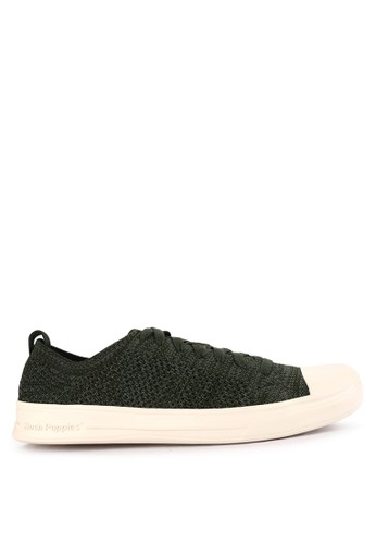 Hush Puppies green and multi Schnoodle Lace Up 84231SH96CC576GS_1