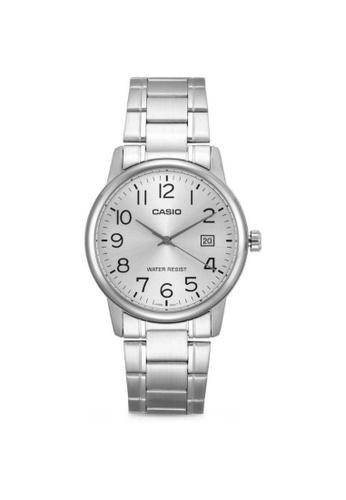 Casio silver CASIO GENERAL MTP-V002D-7BUDF UNISEX'S WATCH 35E4FAC79007EAGS_1