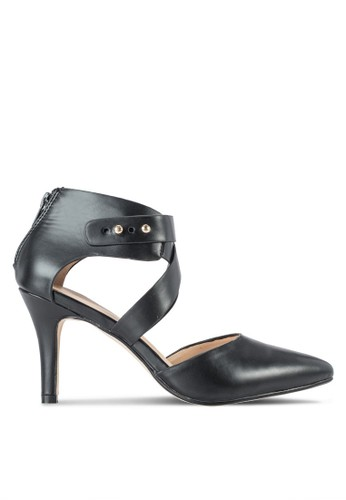 Ankle Wrap Pointed Toe Heel