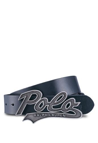 polo ralph lauren black Casual Smooth Leather Belt 200AEAC9F67B49GS_1