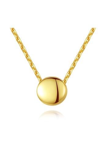 MATCH gold Premium Simple Design Necklace E4D4FAC4ECBCEBGS_1