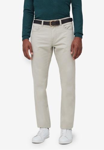 OVS beige Regular-Fit Trousers CFEFEAAF95F0A8GS_1