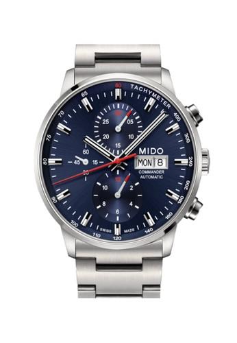 Mido silver MIDO - COMMANDER - M016.414.11.041.00 0B422AC23DC4A6GS_1