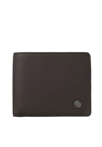 Status Anxiety brown Status Anxiety Leonard Wallet - Chocolate C468DAC796F36BGS_1