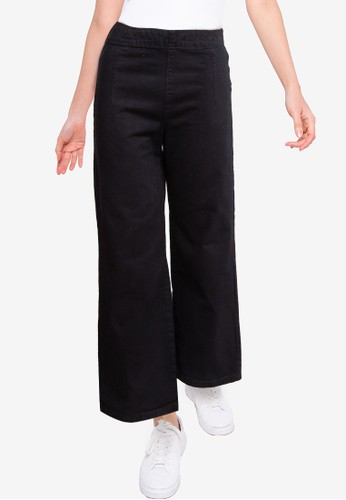 Denim Addict black Women Culotte Denim Pants FC091AA9F69FFBGS_1