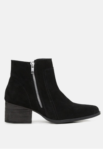 RAG&CO black Ankle Boots with Zip Closure EBBE3SH16ADB3AGS_1