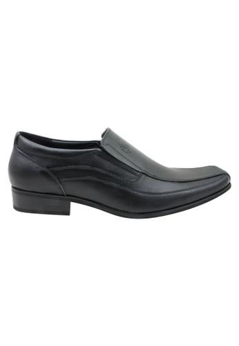 midzone black Leather Formal Dress Shoes MI949SH09ZNIMY_1