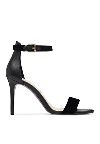 Nine West black NWMANA Open Toe Sandals NI432SH0FTM6SG_1