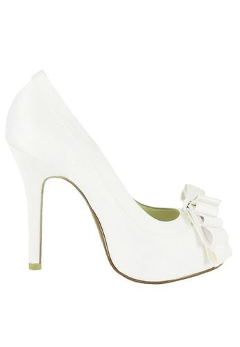 Jacque white Tracy White Heels JA262SH76OZRMY_1