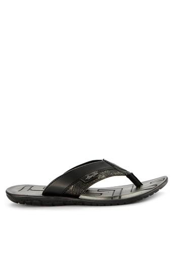 Homyped black Arai 01 Men Sandals 035B5SHB123FC3GS_1