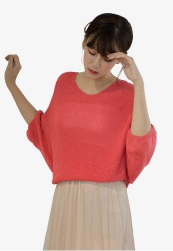 c3fb1f125d379 Buy Tokichoi Knitted V-Neck Sweater Online on ZALORA Singapore