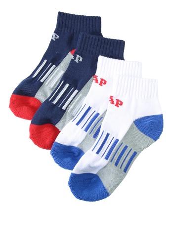 GAP blue Kids Crew Socks (2-Pack) DB8A3KA8A45142GS_1