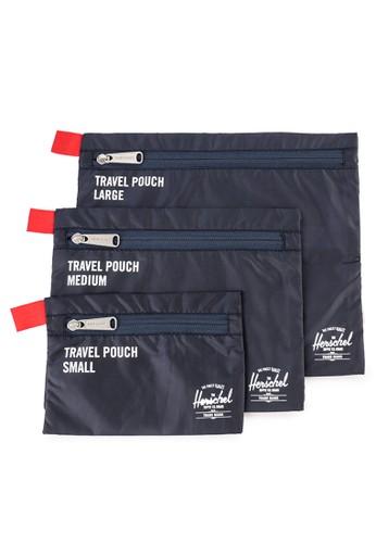 Herschel navy Travel Pouch BB907AC32638A7GS_1