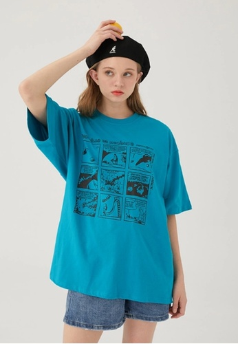 Twenty Eight Shoes Trend Printed Short T-Shirts HH0293 0F37EAA665BAD7GS_1