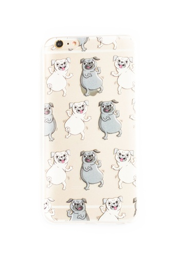 Fancy Cellphone Cases multi Dogs Soft Transparent Case for iPhone 6plus/6splus FA644AC42QNHPH_1