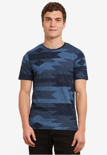 Only & Sons blue Andre Short Sleeve Tee ON662AA0S5OSMY_1