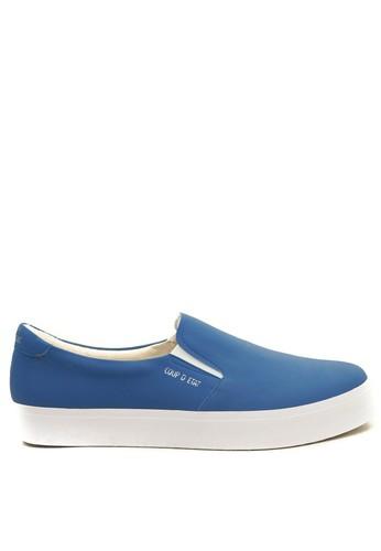 Jual CDE CDE Noctis Women Slip-on Blue (Zalora Sepatu Wanita Slip-on ... 649ea21435
