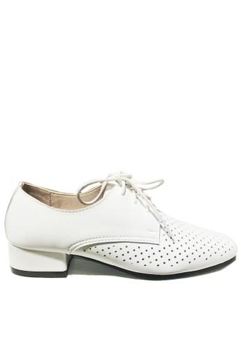 Twenty Eight Shoes 柔軟透氣綁帶鞋 918-1 3DEE0SH8FF1405GS_1