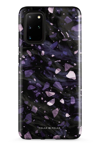 Polar Polar purple Lilac Terrazzo Gem Dual-Layer Tough Case Glossy For Samsung Galaxy S20 Plus 5G 9F120ACDAB1829GS_1