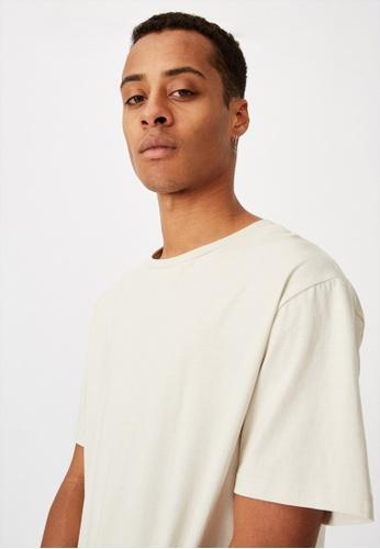 Cotton On grey Essential Longline Scoop T-Shirt D8C78AA8934DDEGS_1