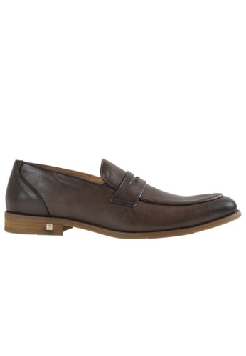Tomaz black Tomaz F140 Penny Loafers (Coffee) TO717SH0RUSNMY_1