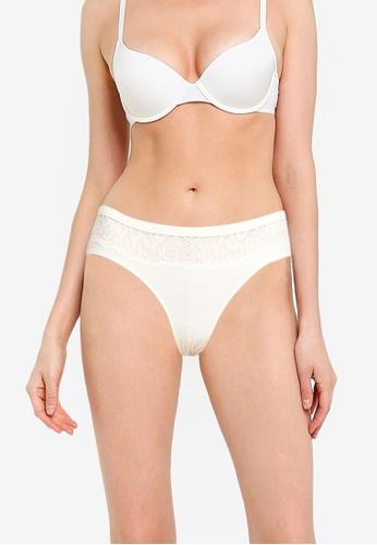 Calvin Klein white Hipster - Calvin Klein Underwear 237A7US3658E48GS_1
