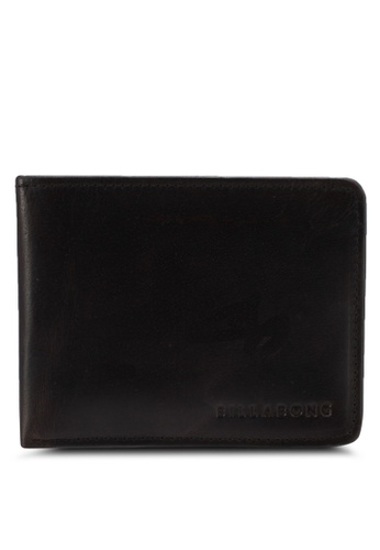Billabong brown Slicker Slim Wallet BI783AC0SXHTMY_1