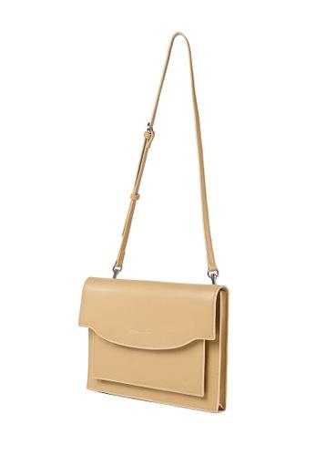 MARCO LAURENT brown Shallow Smile Clutch & Shoulder Bag BEDDEACC1043A3GS_1