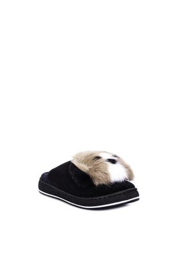 Appetite Shoes black Bedroom Slippers 06814SH7B72B53GS_1