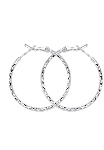 SC Tom Silver silver Prism 4 Loop Earring-EL061S22 SC872AC40HKTPH_1