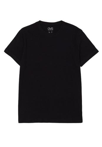 OVS black Cotton Undershirt 11781US91B956EGS_1