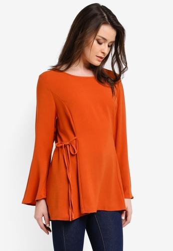 BYN orange Muslimah Blouse BY059AA0RRR3MY_1