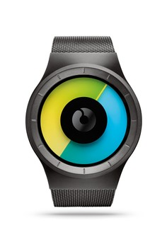 Celeste Gunmetal Colored Watch