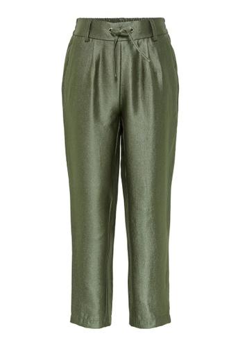 ONLY green Dorota Satin Poptrash Pants CD363KAB809854GS_1