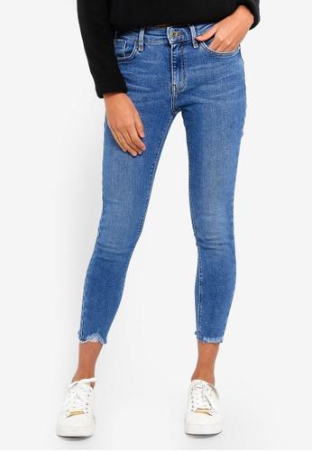 River Island blue Amelie Sunshine Skinny Jeans FFAD0AA537423CGS_1