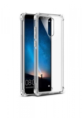 save off 36b3f 6fc86 German Import Drop Resistant Silicone Clear Case for Huawei Nova 2i