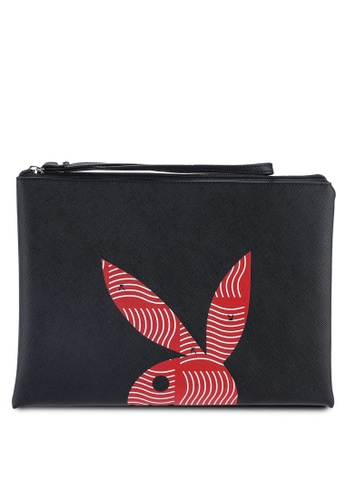 Playboy black Playboy Clutch Bag 2D1B3ACCAE0835GS_1