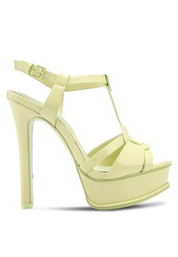 ALDO green Chelly Heeled Sandals 3C8F9SH7A1B1AEGS_1