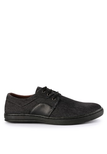 Rocklander black Rocklander Smart Casual Shoes RO753SH0UYF9ID_1