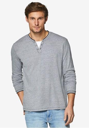 ESPRIT multi and grey Long Sleeve T-Shirt 1E037AAB645384GS_1