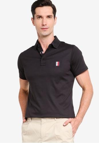 Tommy Hilfiger 黑色 Modern Essentials POLO衫 F0173AAEEF1101GS_1