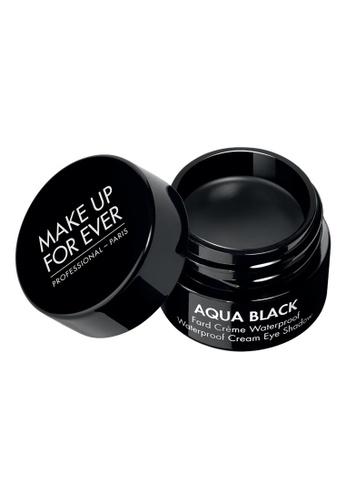 MAKE UP FOR EVER black AQUA BLACK - Waterproof Cream Eye Shadow 1FA42BE0C2502EGS_1